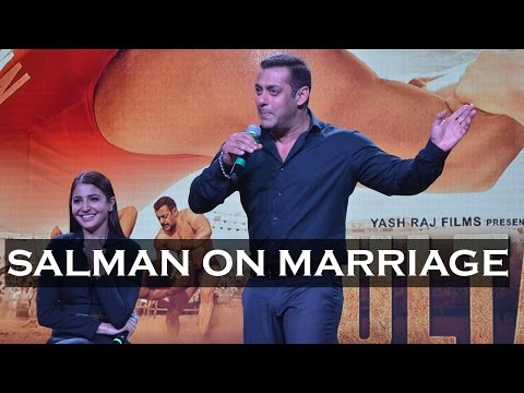 Salman Khan's Sporting Approach About His Wedding Rumour!