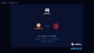 NPL Semi Final: Lions FC vs. Olympic FC