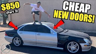 Download Rebuilding My TOTALED $850 V12 Mercedes S600 For Cheap! (Part 3) Mp3 and Videos