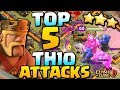 BEST TH10 ATTACK STRATEGY POST UPDATE   Top 5 Town Hall 10 Attacks in CoC   Clash of Clans