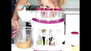 первый прикорм / кормим малыша/  Фасовщик домашнего питания в пакетики дой паки Инфантино