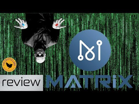 Matrix AI Network MAN - The AI Enabled Blockchain for One Belt One Road