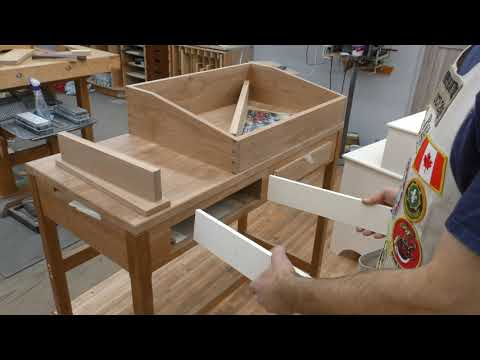 Diy Modern Paper Tray How To Build Woodworking Youtube