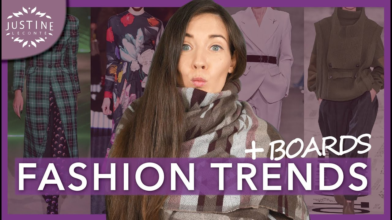 Fall 2020 Fashion Must Haves.Fashion Trends Fall Winter 2019 2020 How To Wear Them ǀ Justine Leconte