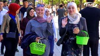 На главной улице Саратова встретили Рамадан