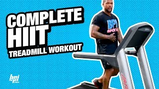 Complete HIIT Treadmill Routine + Introducing NEW Waist Trimmer - BPI Sports
