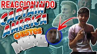 REACCIONÓ AL CAPTINA AMÉRICA CONTANDO CHISTES