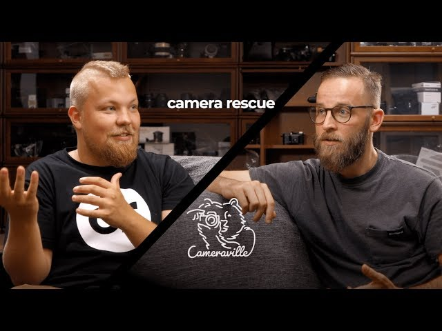 How to Save 100,000 Cameras | A Look inside Camera Rescue Finland
