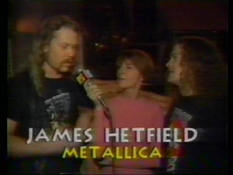 Metallica - Live at The MTV Music Awards (1991) [Full TV Report]