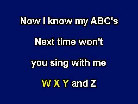 alphabet-song,-karaoke-video-with-lyrics,-with-demo-singer