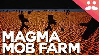 INSANE Magma Block Mob Farm in Minecraft Snapshot 16w20a
