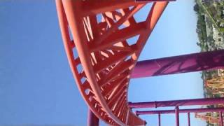 (Six Flags) Vertical Velocity / V2 Front Seat (HD POV) Six Flag
