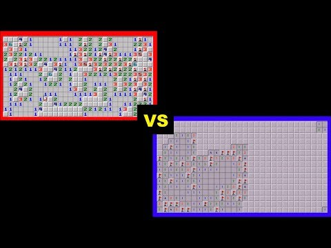 Minesweeper AI  VS  human WORLD RECORD