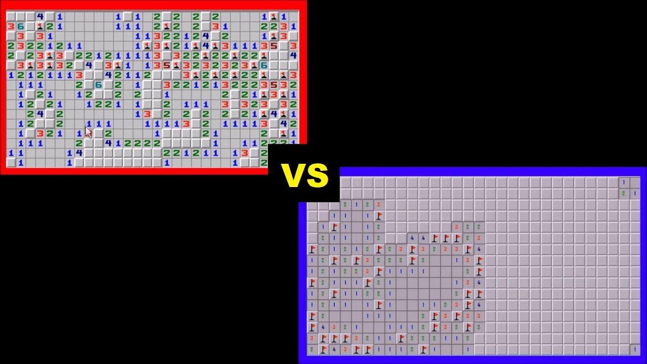 Minesweeper AI VS human WORLD RECORD