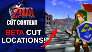 Cut and Altered Locations of Ocarina of Time | Zelda Cut Content