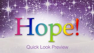 Hope! - A Gospel Christmas Celebration for SATB Choirs
