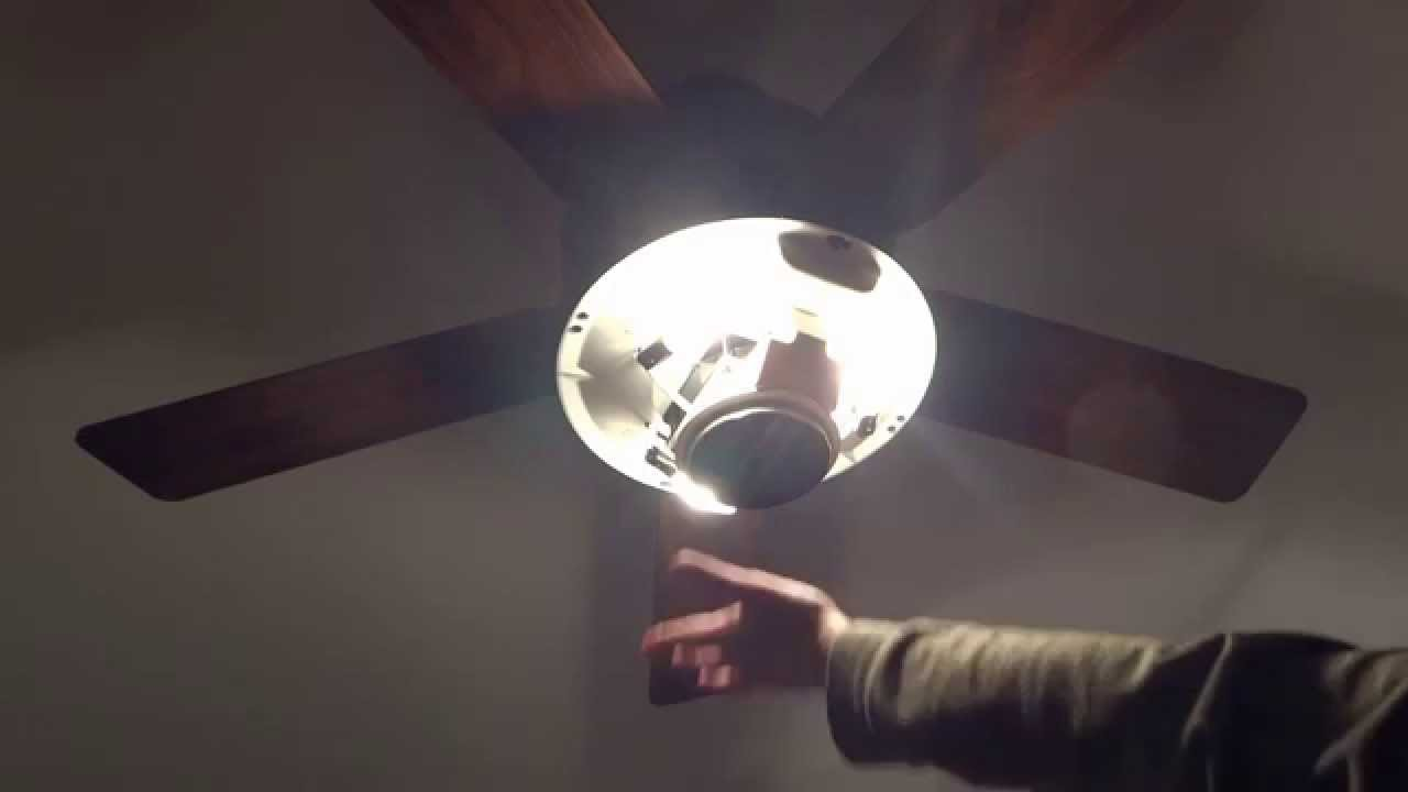 Hunter 59033 Westover Ceiling Fan With Heater Youtube