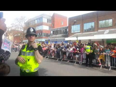Queen Elizabeth II Berkhamsted visit May 06, 2016