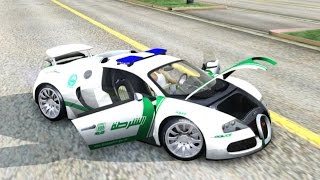 2009 Bugatti Veyron 16 4 Dubai Police | #194 New Cars / Vehicles 6 to GTA San Andreas [ENB]