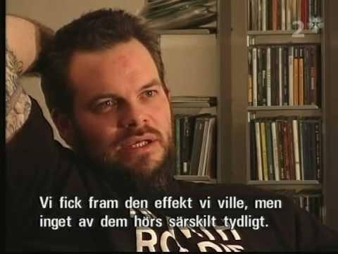 Neurosis - Interview on swedish national television