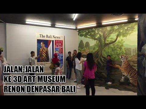 3D Art Museum Renon Denpasar Bali