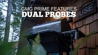 Green Mountain Grills Prime Features - Dual Meat Probes