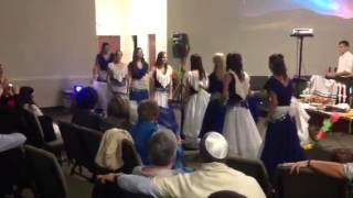 Light of the Menorah Rosh Hashanah Dance