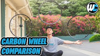 Carbon Wheel Testing - Zipp vs E*Thirteen vs Crank Brothers