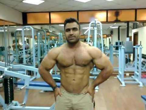 Mr Pakistan Atif Anwar At SBP Gym 2011