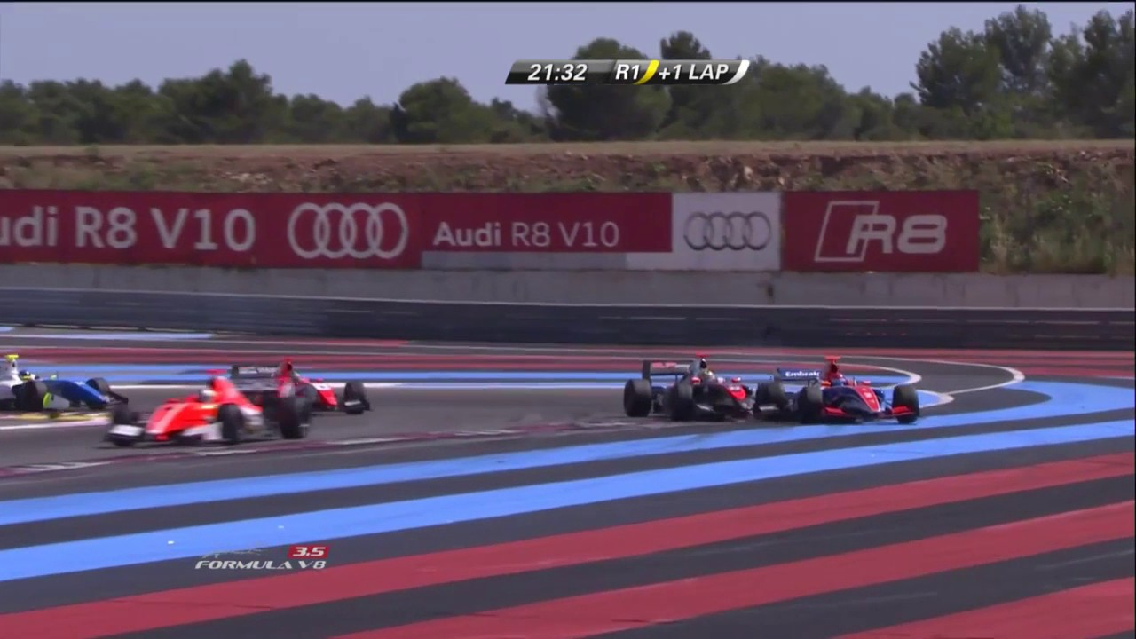 Download PaulRicard2016 Race 1 Baptista Crashes into Fittipaldi