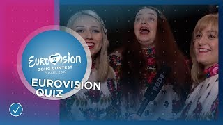 EUROVISION QUIZ: How much do the 2019 participants know about the contest