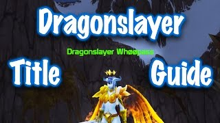 Jessiehealz - Solo Sinestra: Dragonslayer Title Guide (World of Warcraft)