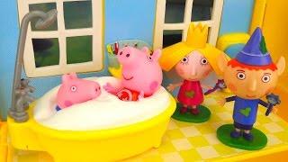 PEPPA PIG Classroom , Grande casa, Parco giochi, italiano, per bambini Ep.1: Peppa è in ritardo!