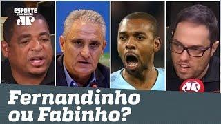 """""""Fabinho VOANDO, e Tite leva Fernandinho?"""" Jornalistas CRITICAM convocação!"""