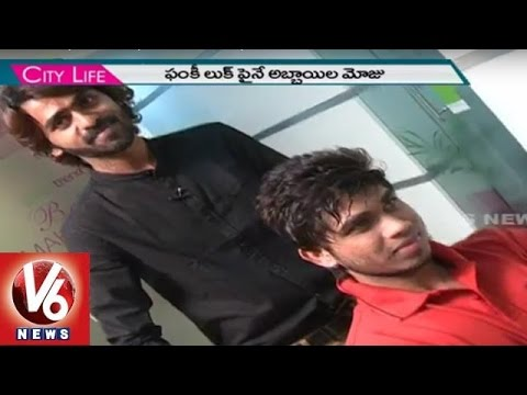 New Beard And Hairstyles Attract Hyderabad Youth | City Life | V6 News