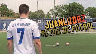 JUANLUDBZ Y LOS RETOS DE FÚTBOL VS Robert PG, xBuyer, Spursito, Koko DC...
