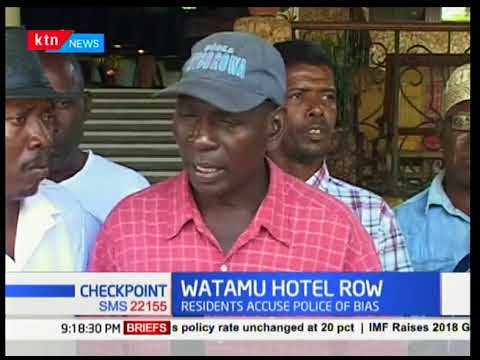 Watamu Hotel Row:They want to evict German investor,residents accuse police of bias