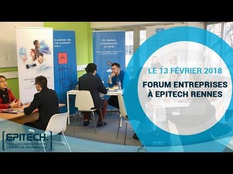 Forum entreprises à Epitech Rennes