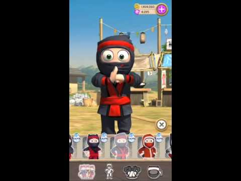 CLUMSY NINJA - ALL SUITS