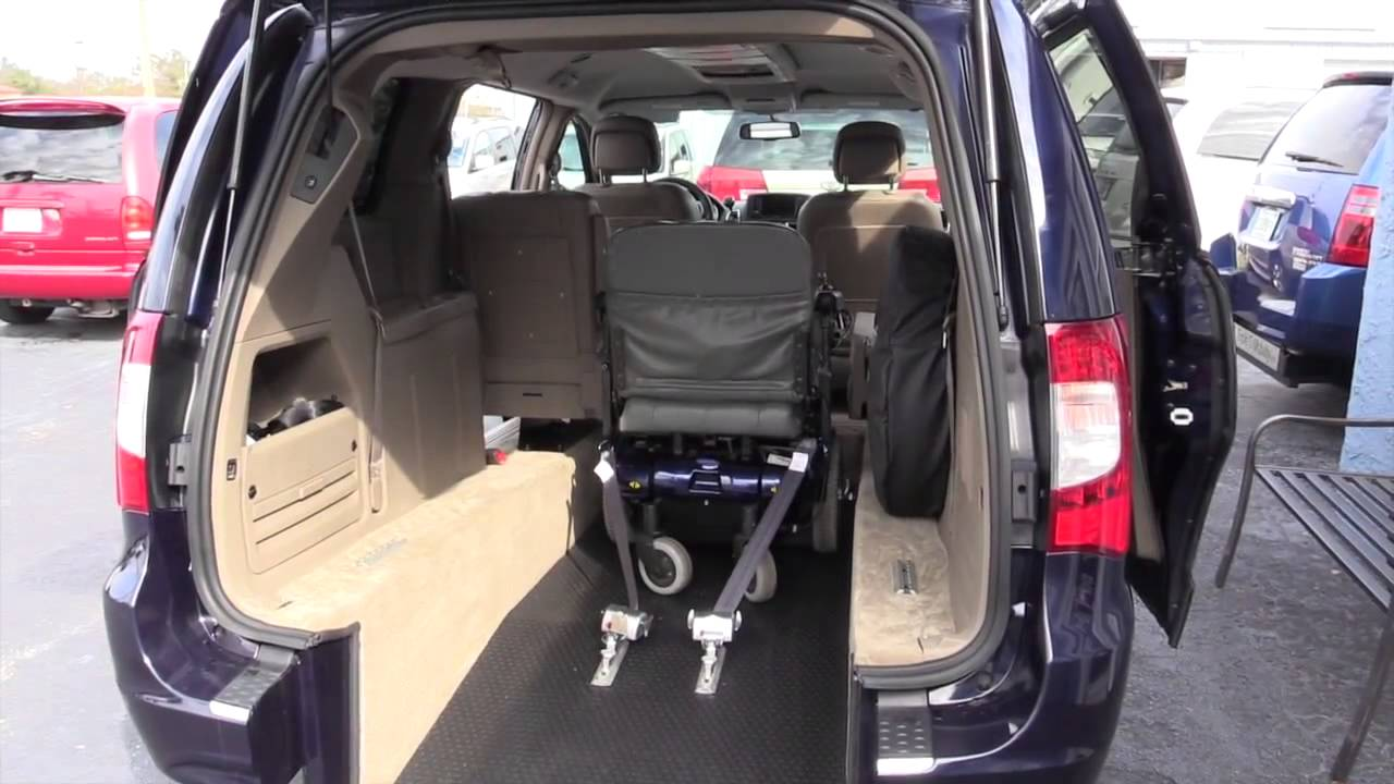 entry handicap minivan safe for your family weight balanced ramps