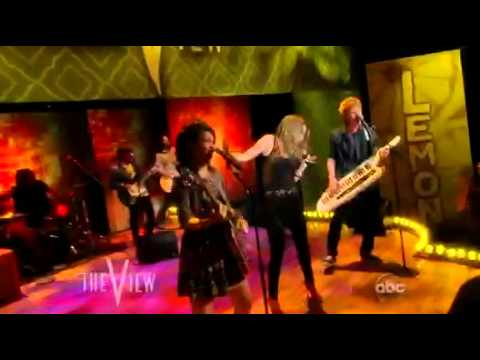 """Lemonade Mouth LIVE """"Determinate"""" on The View 6/10/11"""