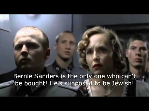 Hitler realizes Bernie Sanders will win the Democratic nomination