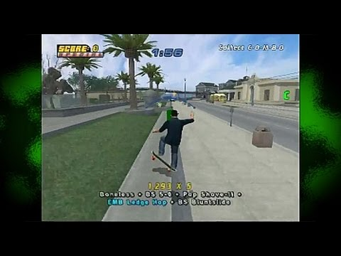 Yks sessio. - Tony Hawk's Pro Skater 4 (PS2)