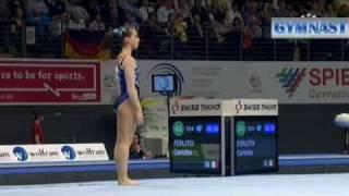 2011 European Gymnastics Championships, Women's Floor Final Coverage