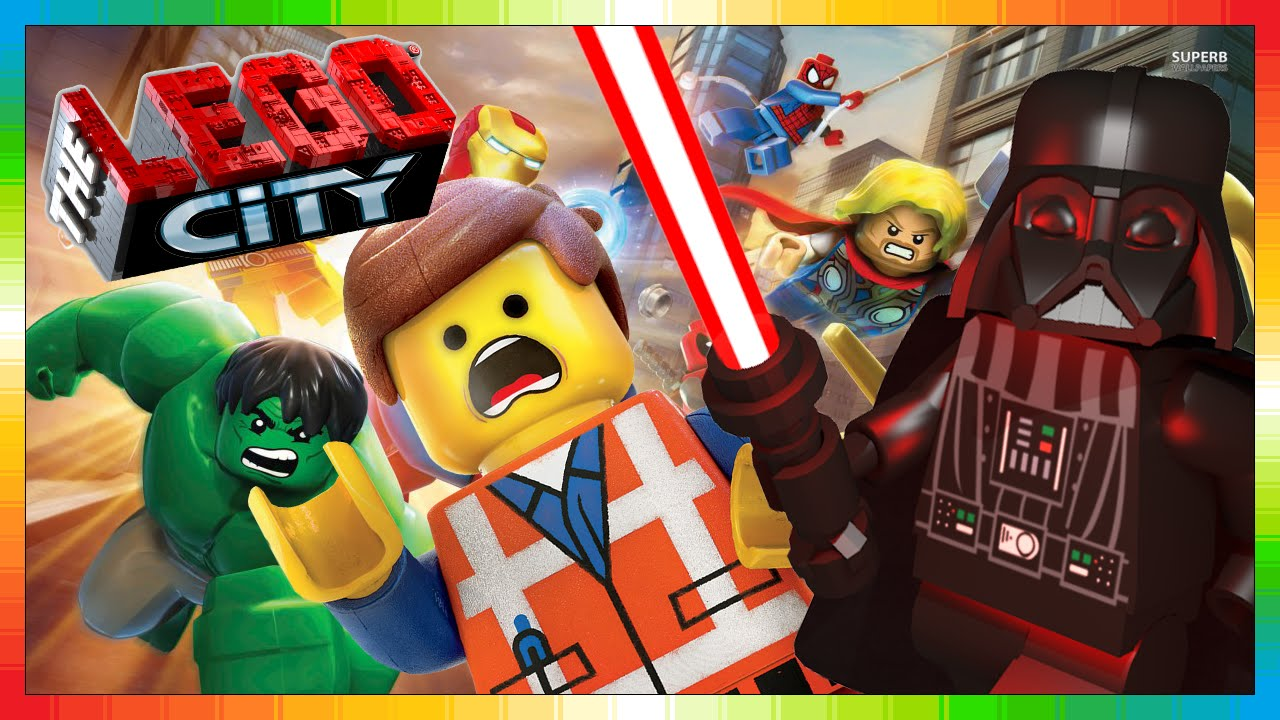 LEGO Star Wars - DARTH VADER in action in LEGO CITY WORLD ...