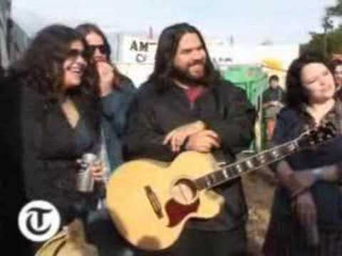 Glastonbury 2007: Interview with the Magic Numbers