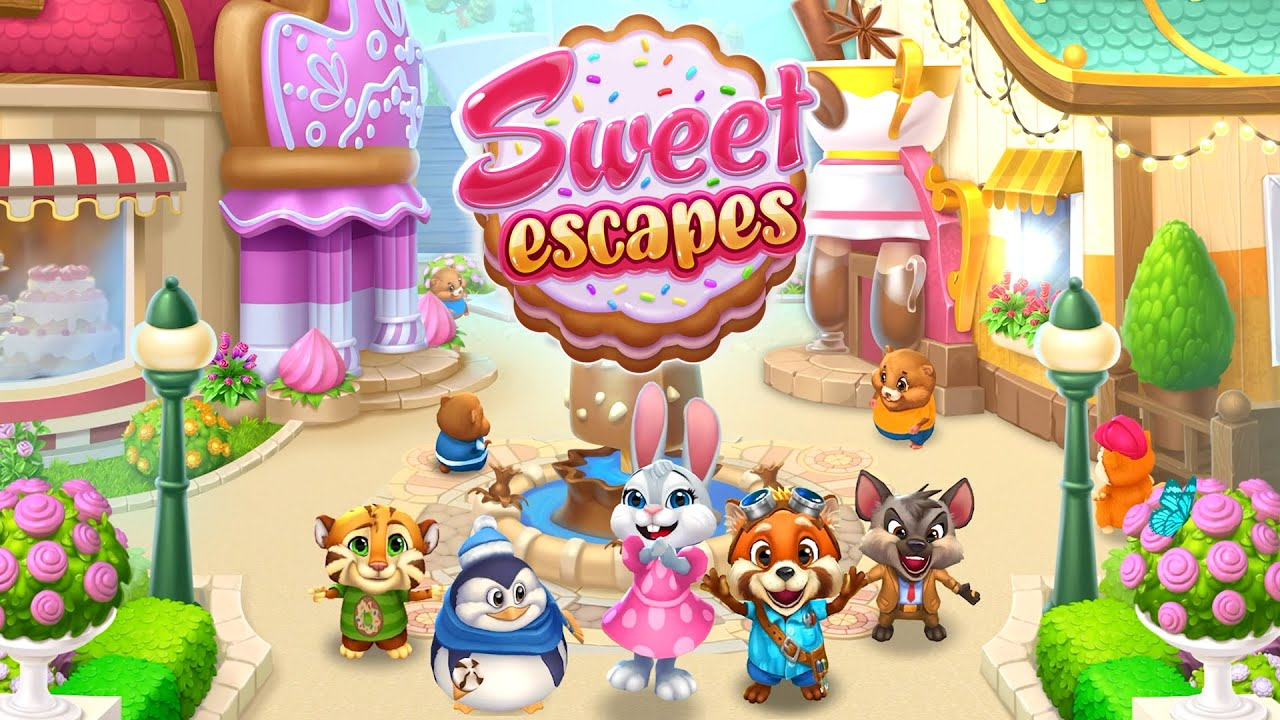 Sweet Escapes MOD (Free Shopping) 5.7.515 Latest Download