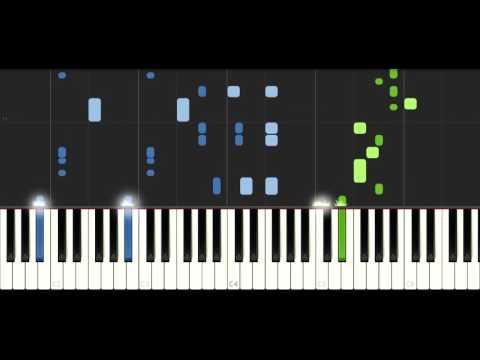 RetroVision - Heroes - PIANO TUTORIAL