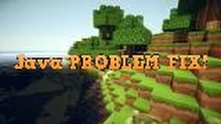 HOW TO FIX JAVA (TM) PLATFORM SE BINARY PROBLEM (Easy!)