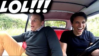 DRIVING THE WORLD'S FUNNIEST CAR!!!